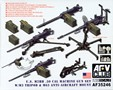 U.S. M2HB .50 Cal Machine Gun Set W/M3 Tripod and M63 Anti-Aircraft Mount