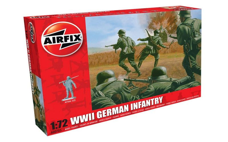 Airfix AIR 00705 WWII German infantry