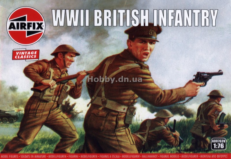 Airfix AIR 00763V WWII British Infantry