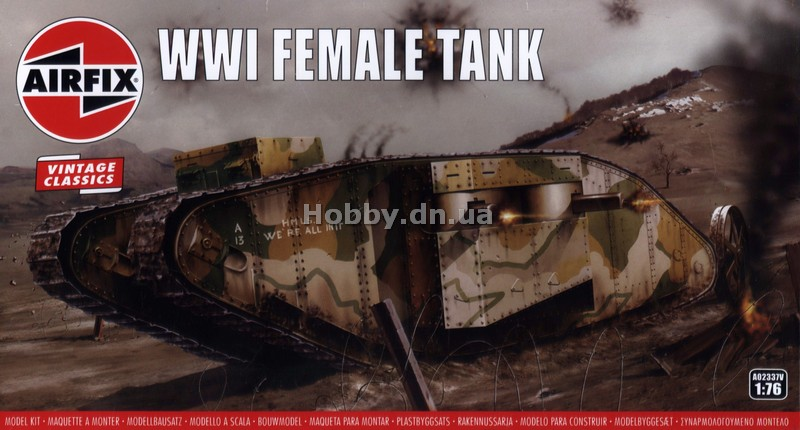 Airfix AIR 02337V Mark I Female Tank