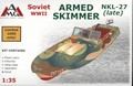 NKL-27 armed speed boat WWII (Late)