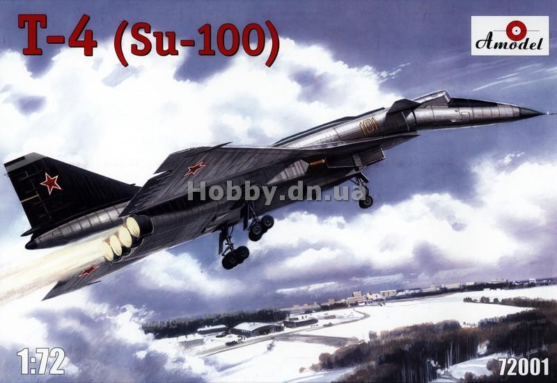 AModel - AMO 72001 - Самолет T-4 (Su-100) - Интернет-магазин ...