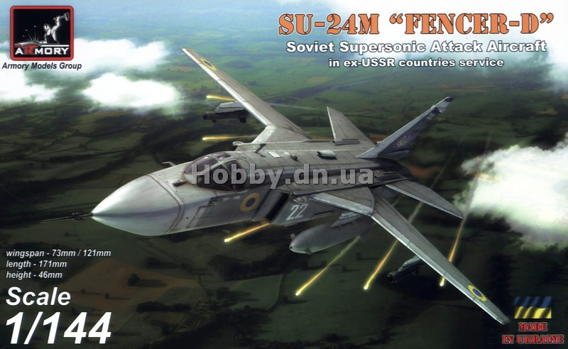Armory ARM 14702 Sukhoj Su-24M Fencer in ex-USSR countries service: USSR, Ukraine, Belarus