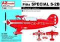 Самолет Pitts Special S-2B  CZ/USA/GB/Germ. LIMIT 1/48