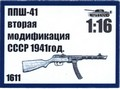 PPSh-41 second mod. USSR 1941