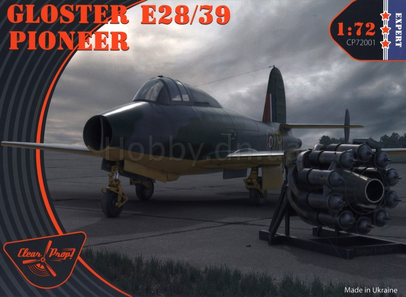 Clear Prop CLP CP72001 Самолет Gloster E.28/39 Pioneer (версия Expert)