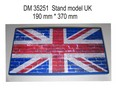 Stand for Models. Stand Model UK (190 mm * 370 mm)