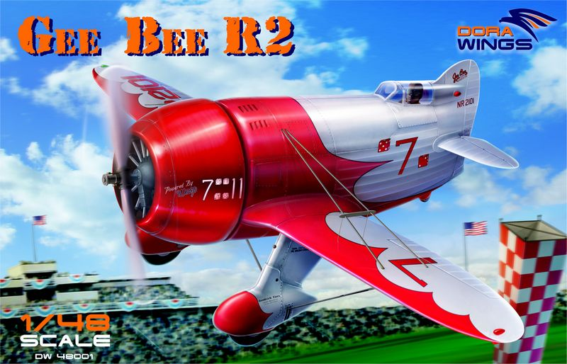 Dora wings DRW 48001 Gee Bee R2 Super Sportster