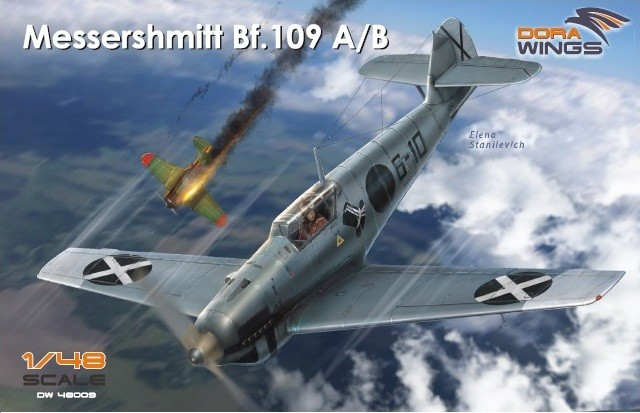 Dora wings DRW 48009 Самолет Messerschmitt Bf.109 A/B
