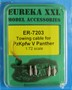 Towing Cable Set for PzKpfw V Panther Sd. Kfz.171 1/72
