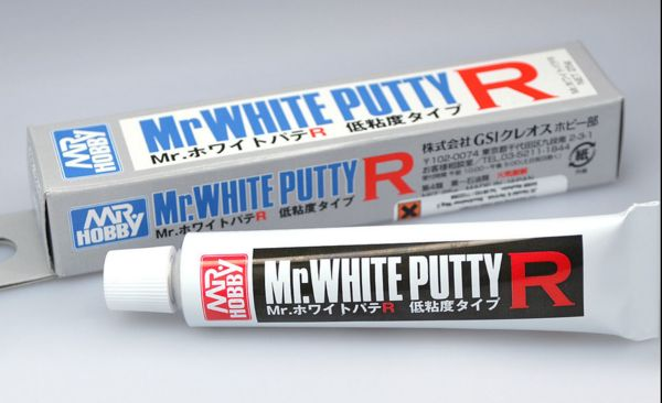 Gunze Sangyo GS P123 Gunze Sangyo Mr White Putty R Low viscosity