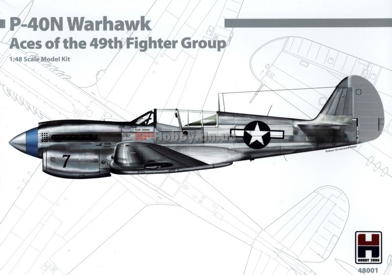 Hobby 2000 H2K 48001 P-40N Warhawk (Aces of the 49th Fighter Group)