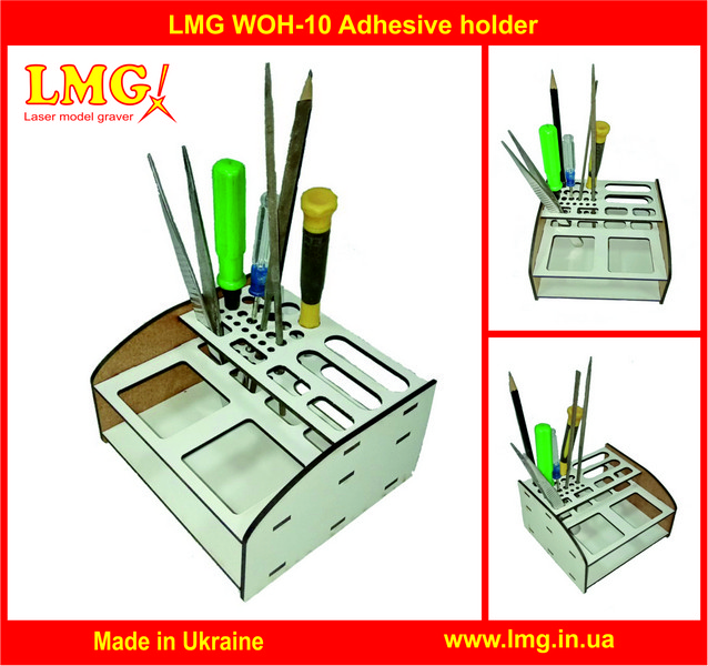 Laser model graver LMG WOH-10 Stand for Glue and Tools