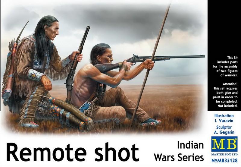 MB 35128 Remote Shot  Indian Wars Series