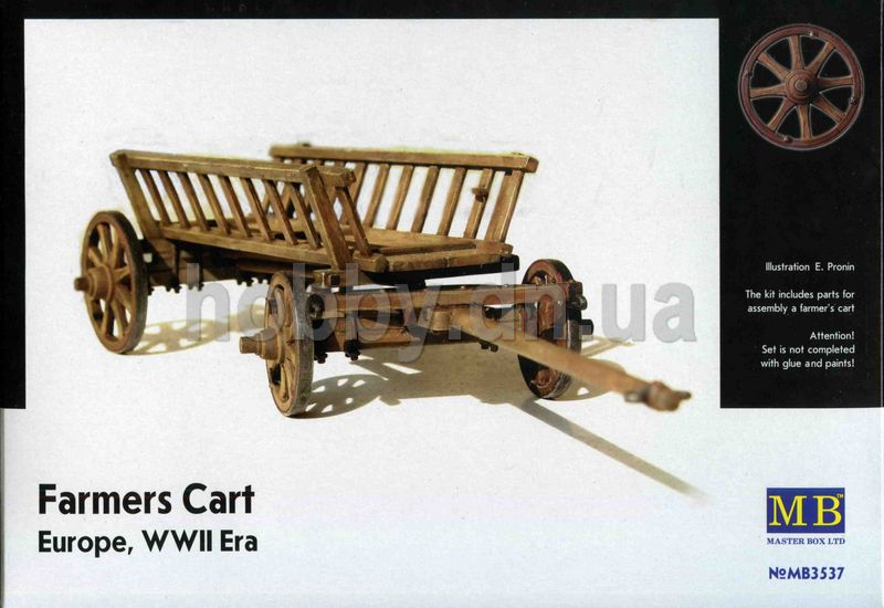 Masterbox MB 3537 Masterbox - Farmers Cart, WWII Europe