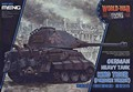 World War Toons. German heavy tank Kingtiger (Porsche turret)