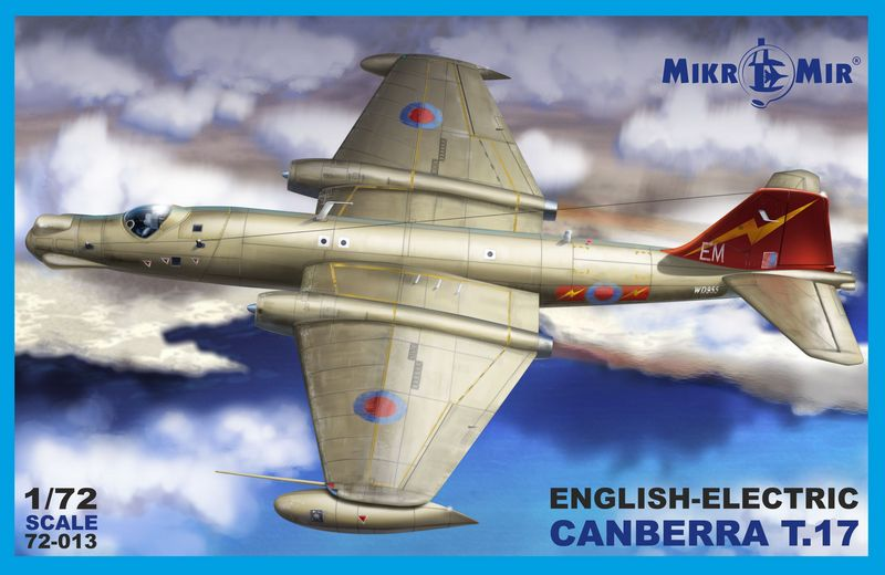 Mikromir MKR 72013 Самолет English Electric Canberra T.17