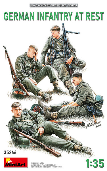 Miniart MRT 35266 German Infantry at Rest