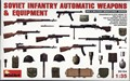 Soviet Infantry Automatic Weapons And Equipment 1/35