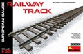 Railway Track. European Gauge