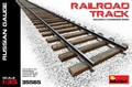 Railroad Track. Russian Guage