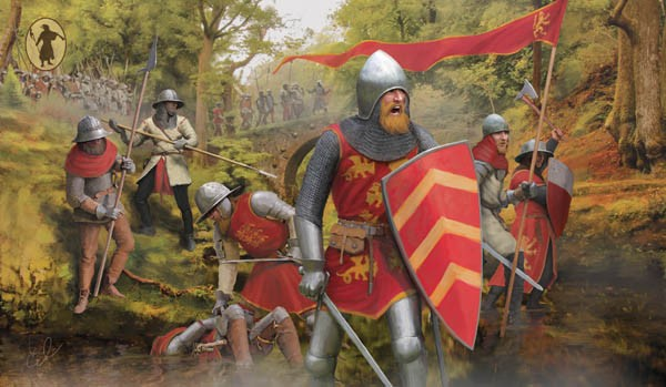 Strelets-R STR M118 English Foot Soldiers 13th-14th Century