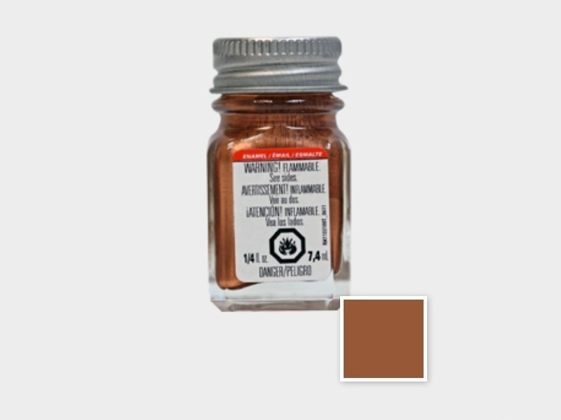 Testors TES 1151TT Metallic Copper Enamel Paint (7.4 ml)