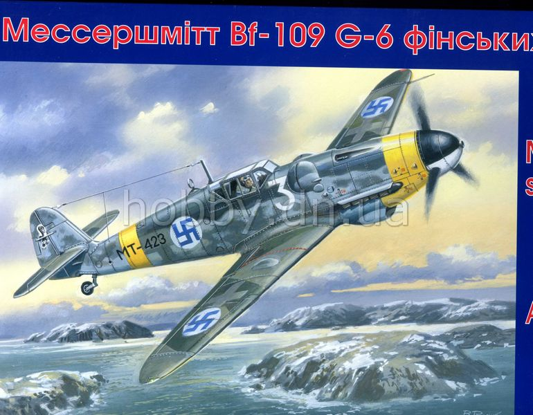 UniModels (UM, UMT) UM 432 Messerschmitt BF-109 G-6 Finnish Air Force