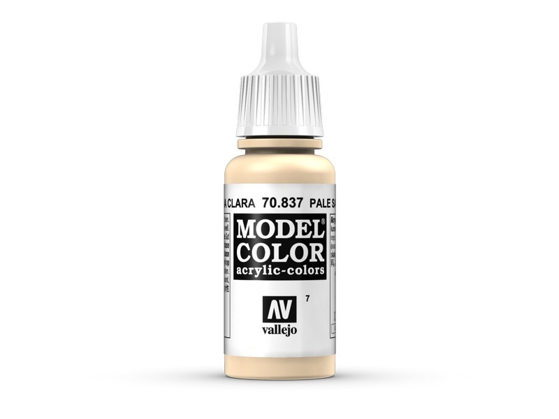 Vallejo VAL 70837 007:MODELCOLOR 837-17ML. SAND LIGHT