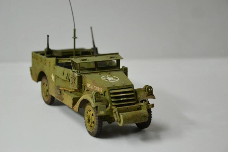 Armored personnel carrier M-3 scout car