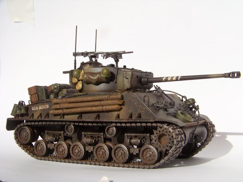 Танк M4A3E8 Sherman Fury