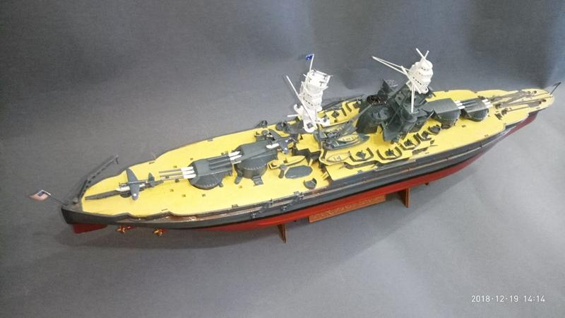 "Линкор (кл. Pennsylvania) USS ""Arizona"" (BB-39, 1941)"