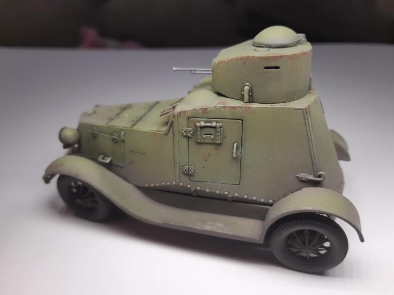 FAI Russian Light Armored Car