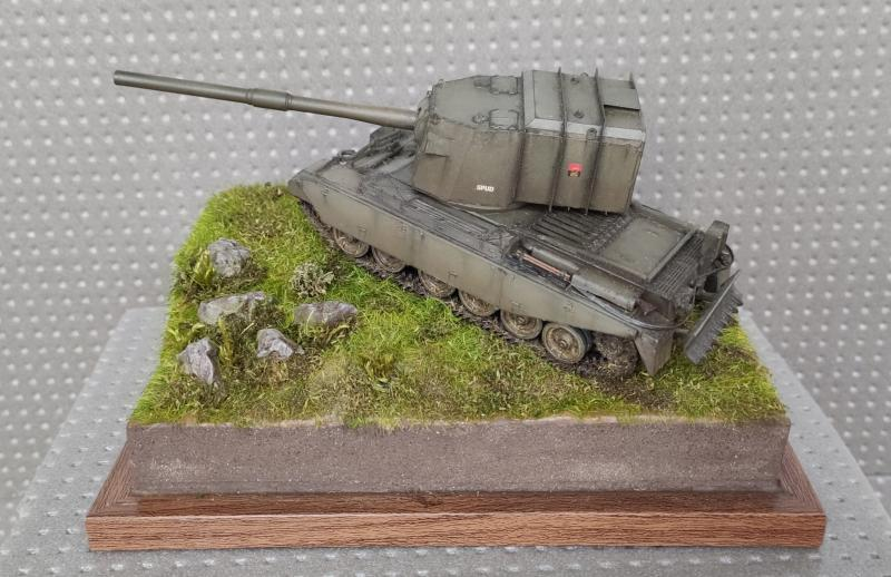 FV4005 183 mm on Centurion Hull