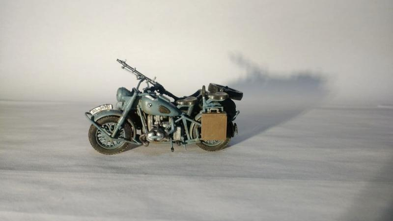 Masterbox - German motorcycle, WWII