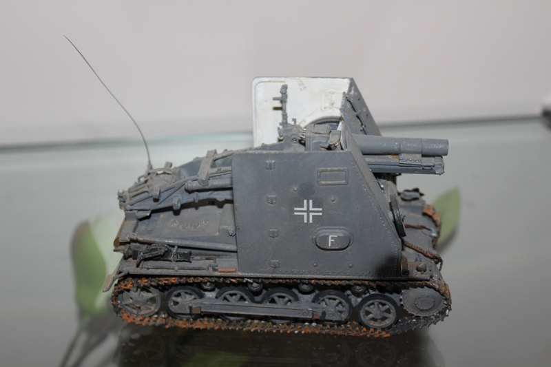 German 15 cm self-propelled gun